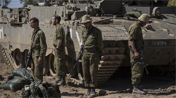israeli army attacks hamas military base in gaza