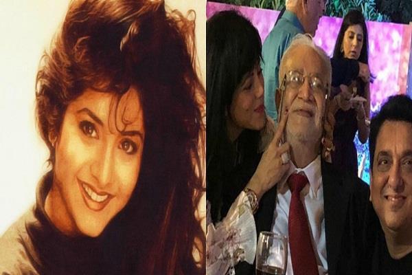 sajid nadiadwala celebrate divya bharti father birthday