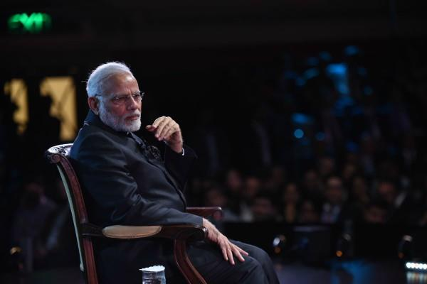 pm speaks in london do not want history to remember modi
