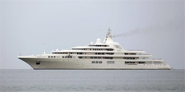 divorce battle strands russian billionaire s yacht in dubai