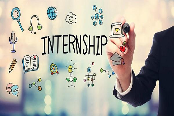 in these areas the internship will get the job before the college ends
