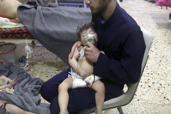 syria chemical attack bashar al assad