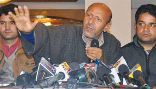 engineer rasid will sit on hunger stirke in kashmir today