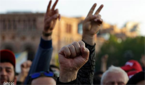 nicole pushinayan accelerates protests