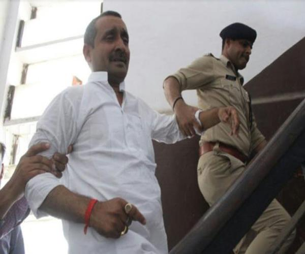 unnao gangrape case sentenced bjp mla kuldeep singh sengar sent to jail