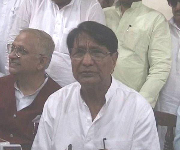ajit singh a simple target on the central government said