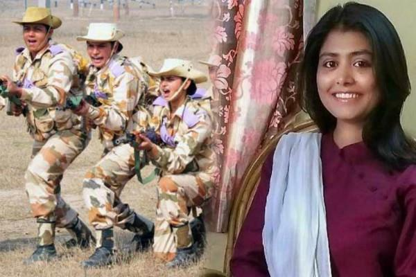 prakriti will be first woman officer in combat role itbp