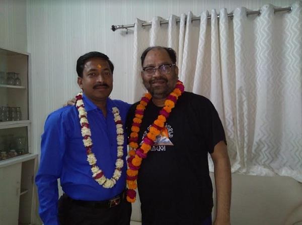 anil saini of punjab kesari won the post of executive member