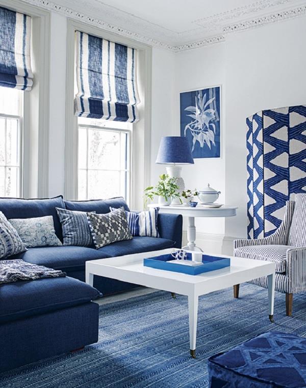 व्हाइट और ब्लू Combination चाहते हैं तो यूं करें घर की डैकोरेशन