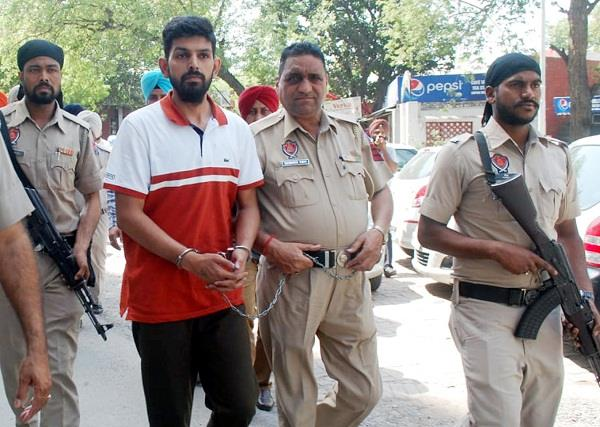 gangster saraj gets 16 days in judicial custody