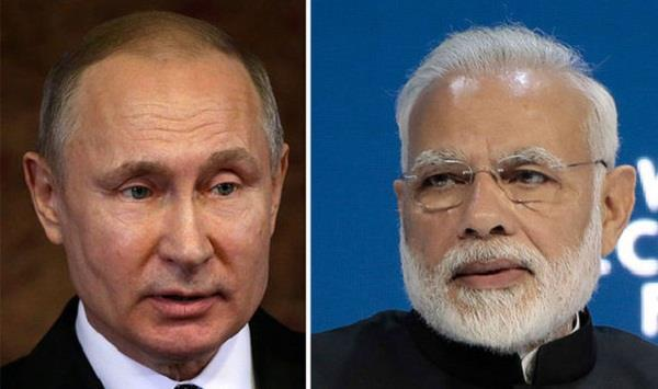 russian pm putin held phone call with indian pm modi