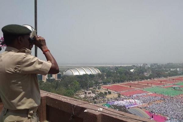 rally in gandhi maidan