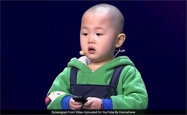 three year old boy cute dancing