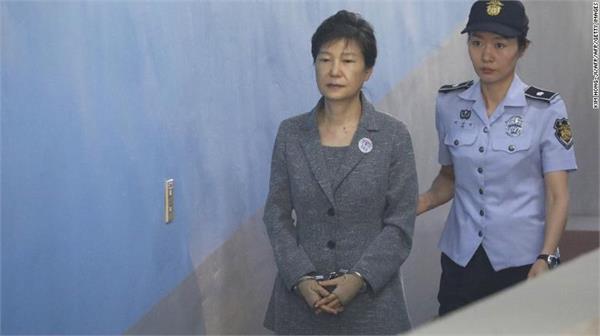 former south korean president parke gin hye sentenced to 24 years