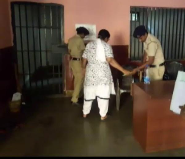 eight girls locked in a flat in goa a woman arrested