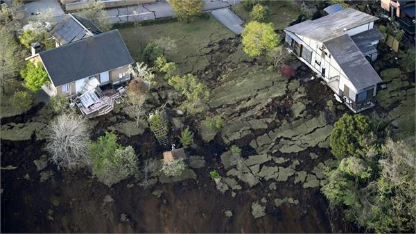 a person dies in a landslide incident in japan