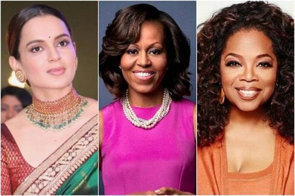 kangana ranaut to share stage with michelle obama and oprah winfrey