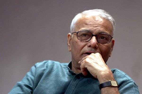 sinha appeal to advani and joshi