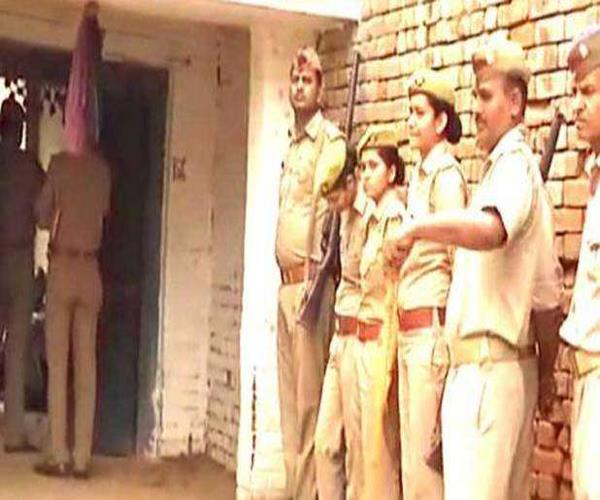 unnao rape case the sit team reached the victim s house to inquire