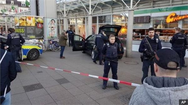 german government says  no indication  of terrorism in münster van ramming