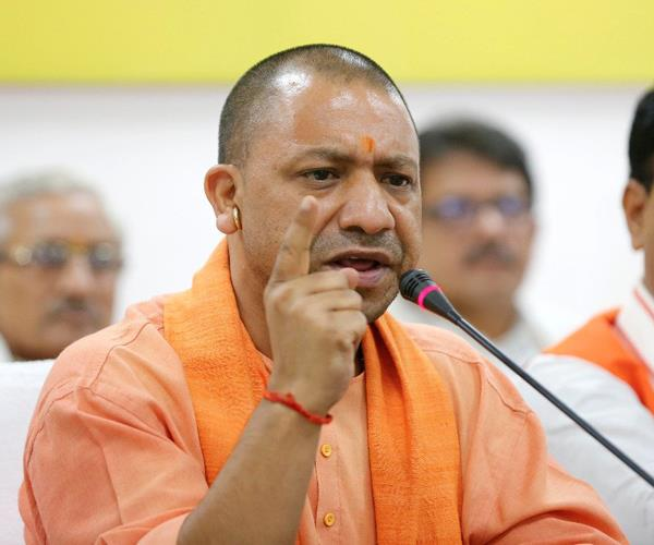 cm yogi is hard about the law and order these instructions given to the officers