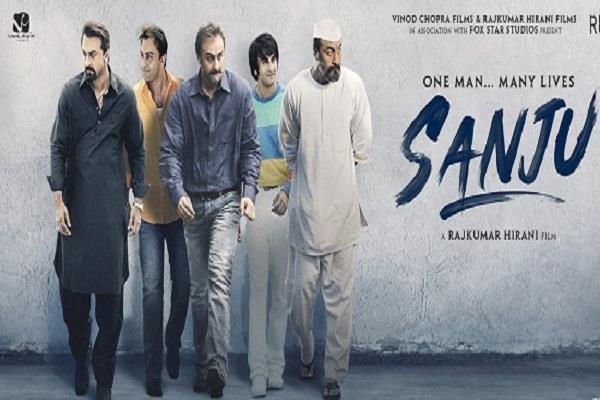 sanju teaser trend on you tube