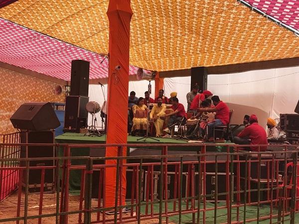 talwandi sabo congress s colorful program at religious festivals