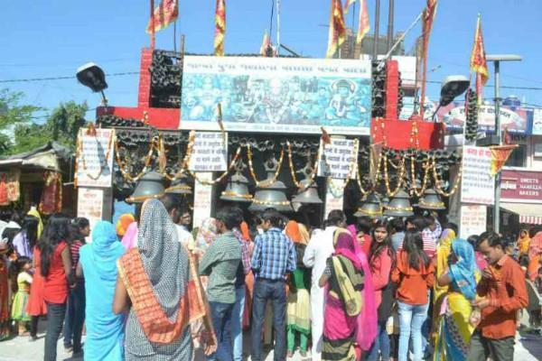 devi durga 84 ghanta temple in bareilly