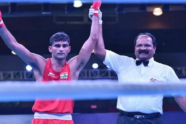 boxer manish reached the final of the cwg