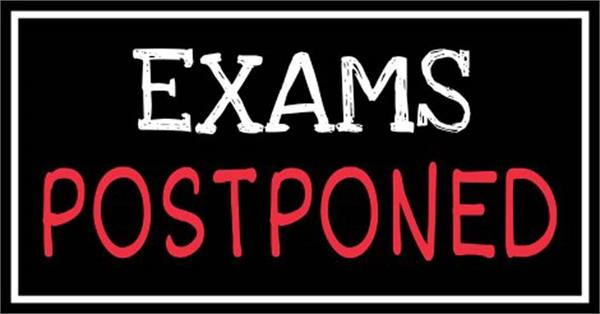 postponed examinations in jammu and kashmir