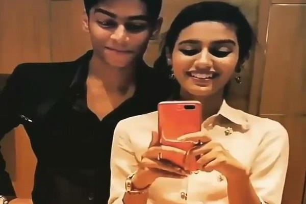 priya prakash again famous on social media