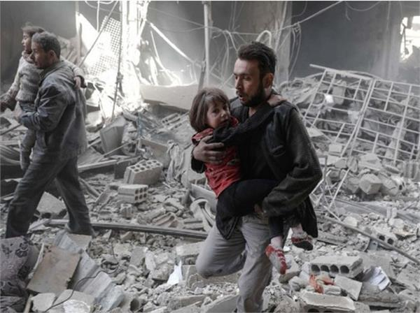 after the syrian invasion the circumstances of the children were scattered