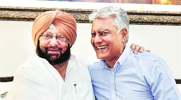 no displeasure with captain jakhar