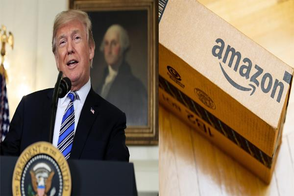 amazon s 45 billion loss from trump s tweet