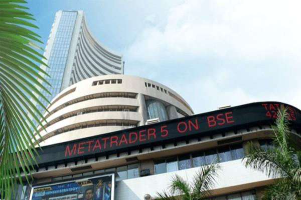 sensex rises 96 points and nifty closes at 10560