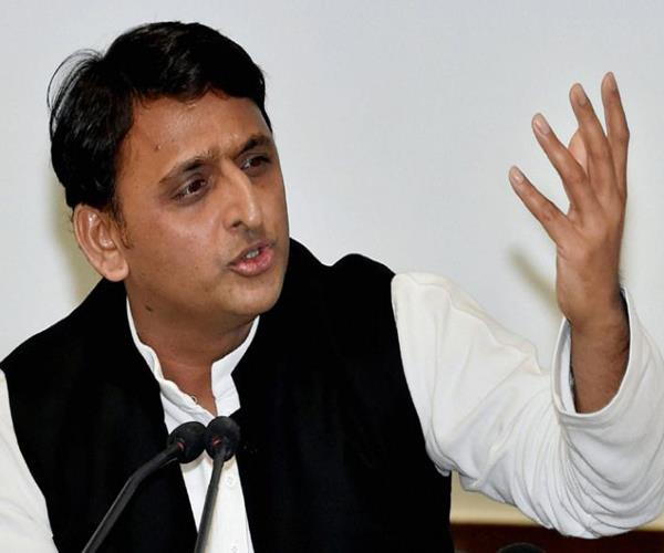 bjp trying to polarize votes by provoking people akhilesh