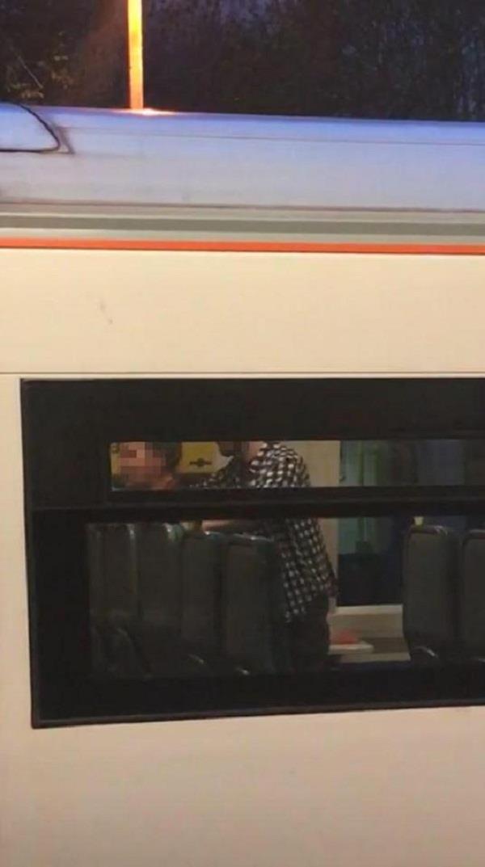 uk couple filmed having sex on train