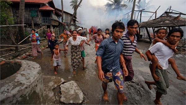 is not favorable conditions for the return of rohingyas in myanmar