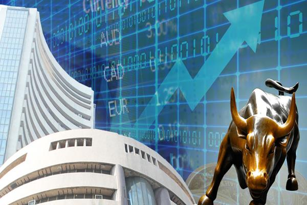 stock market rally sensex up 115 points