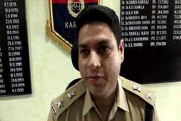 sp surendra bhauria handled charge