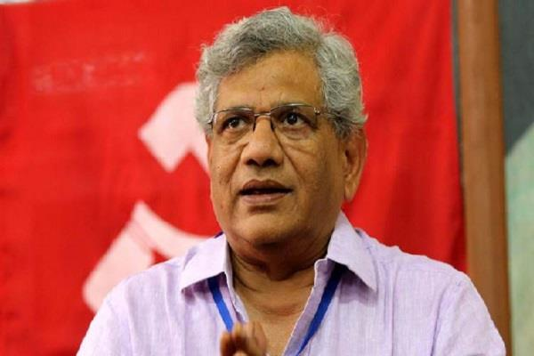 sitaram yechury elected for party general secretary