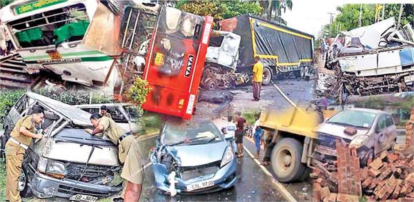 39 killed in accidents during sri lankan new year