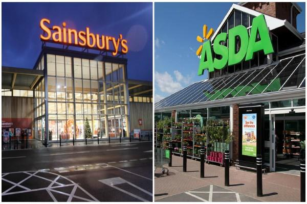 sainsbury and walmart asda will merge