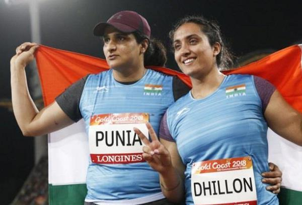 punjab players in spectacular display in cwg
