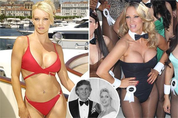 playmate mode affair with trump while marla maples was pregnant