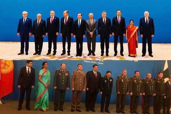 sushma swaraj nirmala sitharaman social media