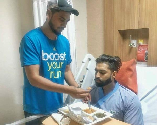 parmish verma discharged from hospital