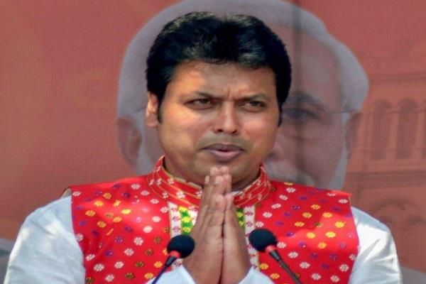 bjp says cpm responsible for spreading violence in tripura