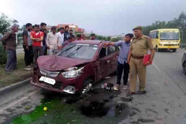 one died and one injured in roas accident at samba