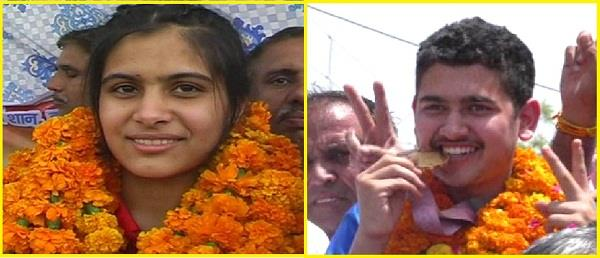 manu bhakar and anish bhanwala are gold medalist in coomonwealth games 2018
